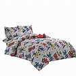 WPM Kids Collection Bedding 4 Piece Sport car Twin Size ...