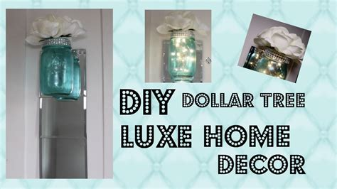 1 Dollar Home Decor : Diy Elegant Home Decor Dollar Tree