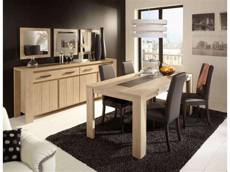table de cuisine chez conforama table rectangulaire 180 cm brest nature coloris chêne