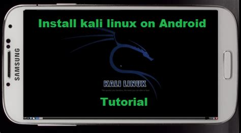 kali on android kali linux android installieren
