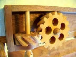 hoe maak je tandwielen van hout