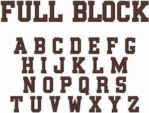 11 fancy font number block images birthday number With block letter embroidery font
