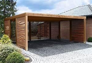 Carport Holz Modern : 1000 images about backyard carport storage on pinterest carport plans wooden carports ~ Markanthonyermac.com Haus und Dekorationen