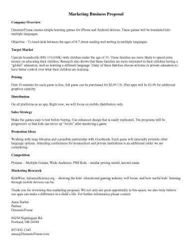 Company Trip Proposal Template by 32 Sle Proposal Templates In Microsoft Word