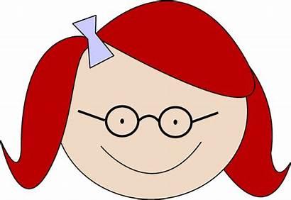 Clipart Redhead Clip Head Hair Cliparts Library