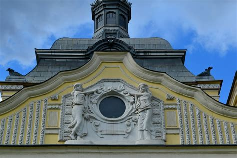 Free picture: baroque European facade sculpture