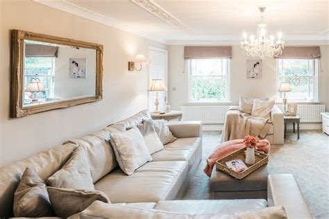 Splendid Shabby Chic Living Room Shabby-chic Style With