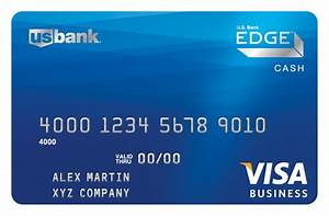 Introducing us bank business edge a new name for us for Us bank business card