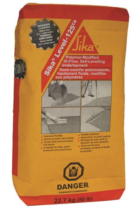 underlayment  levelling sika level ca kg nca