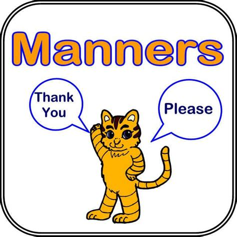 manners for kids clipart images good manners pictures clipart images