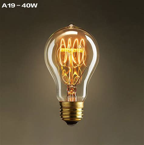 a19 incandescent bulbs vintage edison light bulbs e27