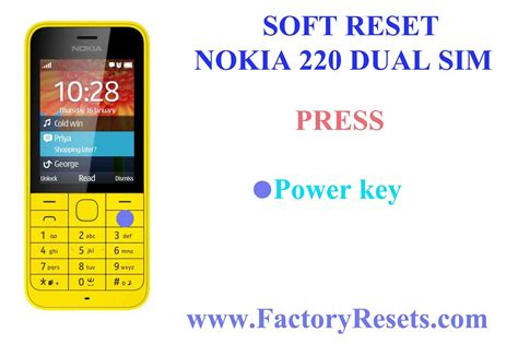 How To Hard Reset Nokia 220 Dual Sim (rm-969