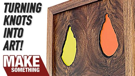 woodworking project making art   knots youtube