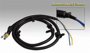 2x For Cadillac Chevrolet Pontia Abs Wheel Speed Sensor