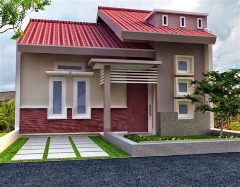 design rumah minimalis warna orange desain rumah