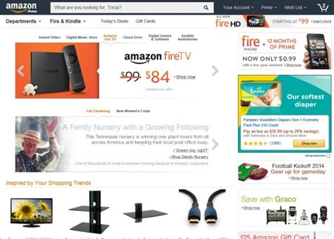 Amazon Tests A New Homepage That Funnels Customers Into