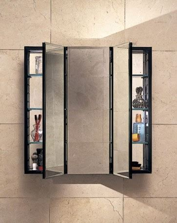 Robern Mirrored Cabinets by Robern Plm3030b Pl Series Cabinet 3 Flat Beveled Mirrored Door