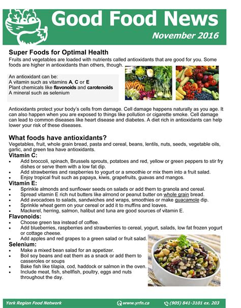 newsletter cuisine food box november newsletter