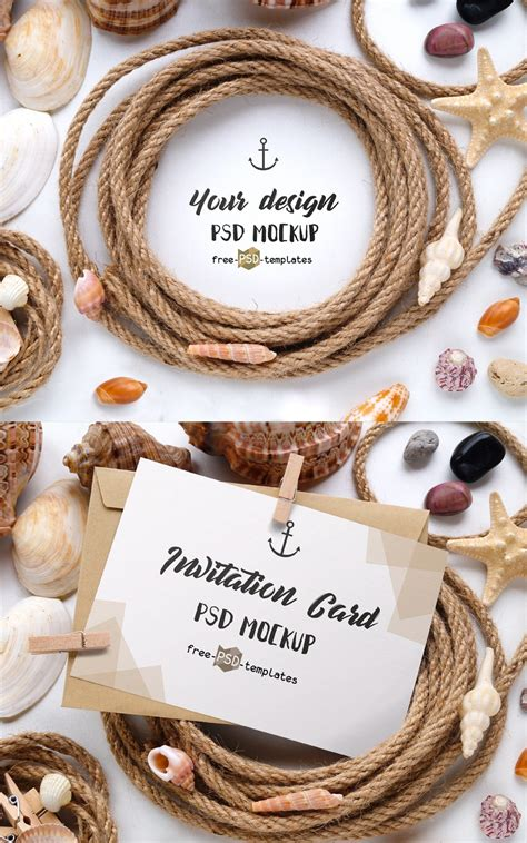 Starting from a garter and finishing by wedding invitations. 2 Free Invitation Card Mockups In PSD » CSS Author