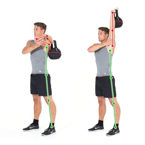overhead arm exercise kettlebell tricep triceps exercises press training lift arms table long gymbox