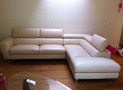 Nicoletti Sofa by Leather Sectional Sofa Nicoletti Leather Sectionals