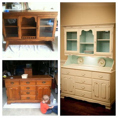 reclaimed kitchen cabinets for diy china cabinet china hutch before and after chalk paint 7652