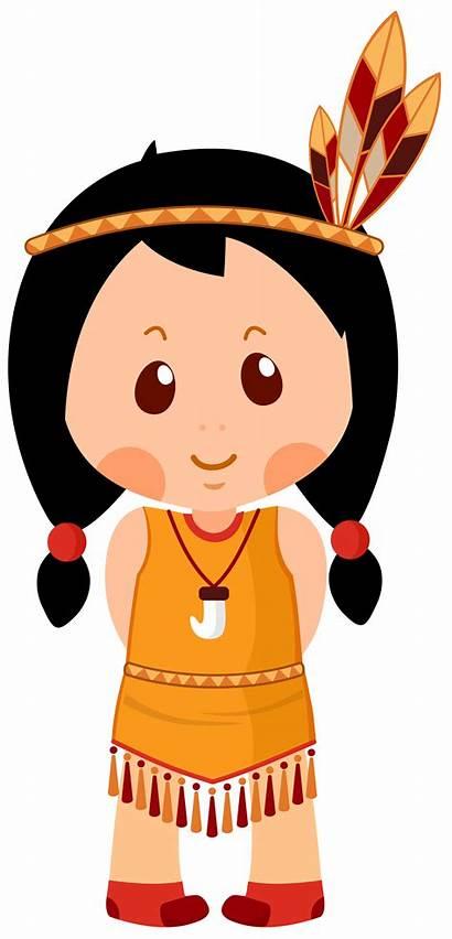 Native American Clipart Indian Thanksgiving Cartoon Clip