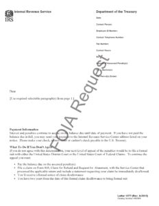 irs letter  penalty abatement denied hr block