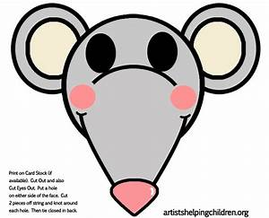 printable mouse mask template - mouse rat crafts for kids ideas to make mice rats