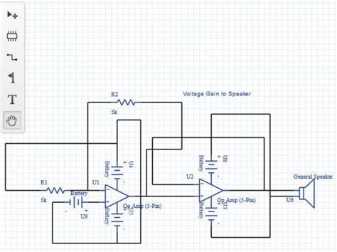 upverter a web app to create electronic circuit diagrams