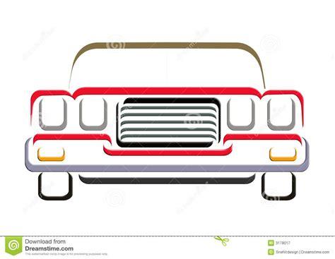 Car Line Art Stock Illustration. Image Of Illustrations