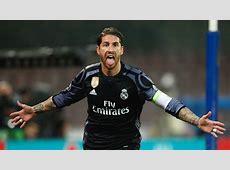 SERGIO RAMOS NAPOLI REAL MADRID 07032017 Goalcom