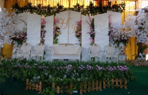 dekorasi modern jogja johan  heny pusat wedding
