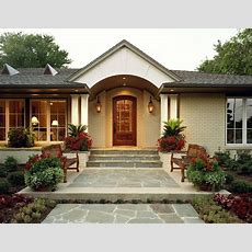 Best 25+ Ranch Homes Exterior Ideas On Pinterest Curb