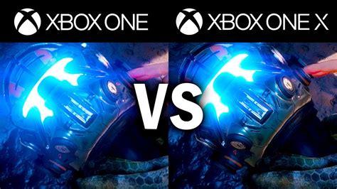 Xbox One X Vs Xbox One S Comparison 1080p Comparison