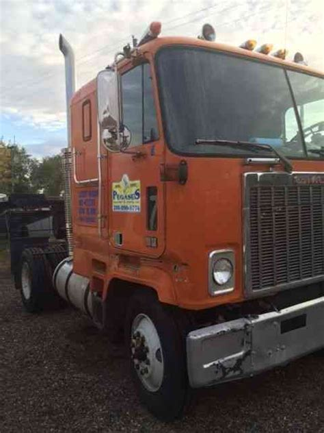 gmc  sleeper semi trucks
