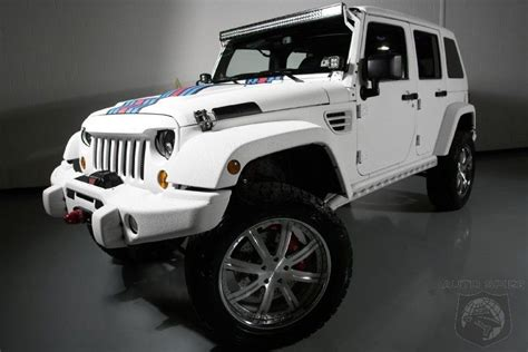 Most Expensive Jeep Model by Most Expensive Wrangler In The World With A 6 4 Liter