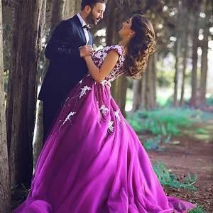 2016 hot sale purple a line sleeveless wedding dress tulle With purple wedding dresses for sale