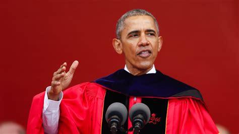 barack obama asked   national graduation speaker
