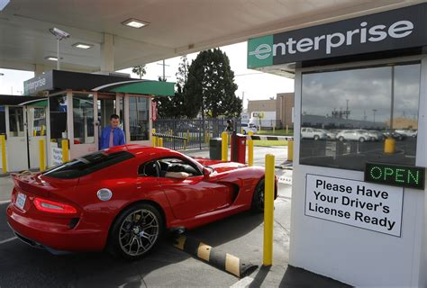 Las Vegas, Nv  Car Rental Companies Ramp Up Exotic Offerings