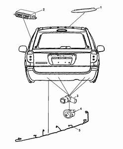 2007 Chrysler Town  U0026 Country Park Assist Detection System