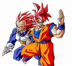 Super Saiyan God Goku and Vegeta by wesleygrace58 on ...