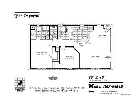imp  mobile home floor plan ocala custom homes