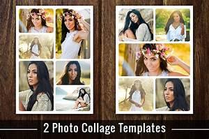 Montage Photo Photoshop : photo collage template photoshop psd flyer templates creative market ~ Medecine-chirurgie-esthetiques.com Avis de Voitures
