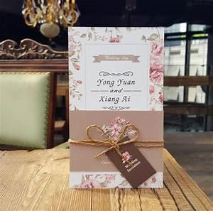 aliexpresscom buy fresh simple wedding invitation With buy wedding invitations in store