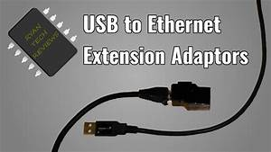 How To Make A Pair Of Usb Over Ethernet Adaptors
