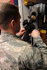 633rd Security Forces Squadron Armory  Providing Equipment