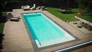 kindersicheres zuhause kunst am garagentor pool im With französischer balkon mit pool in kleinem garten