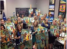 Uptown Art Meet, Drink, and Paint Happy