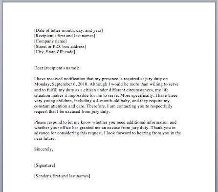 School Absence Excuse Letter Sample
